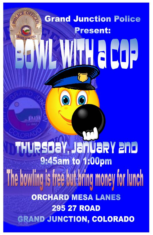 bowl with a cop large poster2014