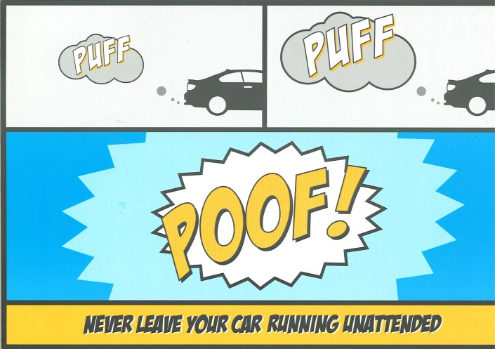 Puffing Flyer 2013 front