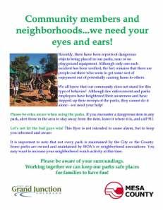 Parks Alert Sized
