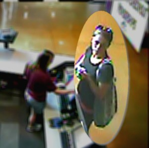 Surveillance photo of suspect