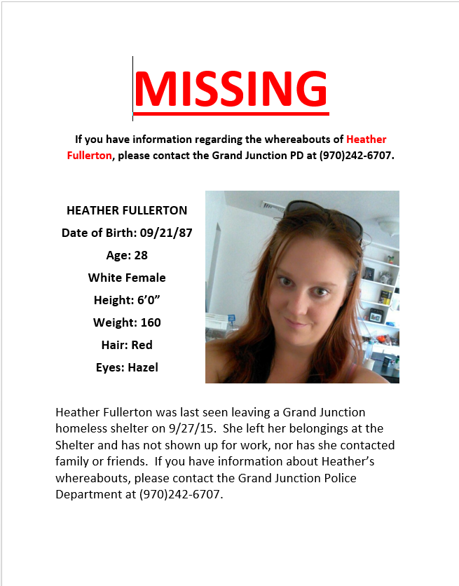 Missing Person Found #Missing #GJPD #ShareGJ #GVCopBeat