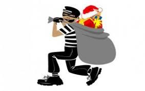 Holiday thief